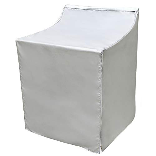 Covolo Washer/Dryer Cover,Suit for outdoor top-load and front load machine,Waterproof Dustproof Windproof Moderately Sunscreen Silver Coated(W29D28H40in) (Best Top Load Washer Brand)