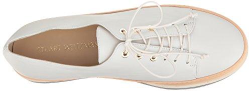 Stuart Weitzman Dames Activeren Fashion Sneaker Wit