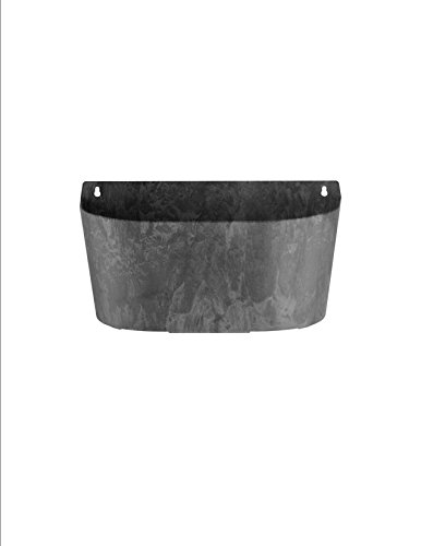 ArtStone Napa Wall Pot, Black, 15.5-Inch