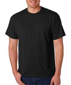 Adult Mens Black T-shirt - 4