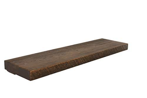 Joel's Antiques & Reclaimed Decor Floating Shelf, Rustic Shelves, Wood Shelf, Pine, Dishes, Books, Open Shelving, Heavy Duty, 36