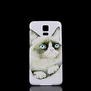WQQ Samsung S5 I9600 compatible Graphic/Special Design Plastic Back Cover
