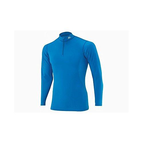 MIZUNO Mid weight 1/2 zip bleu Taille S