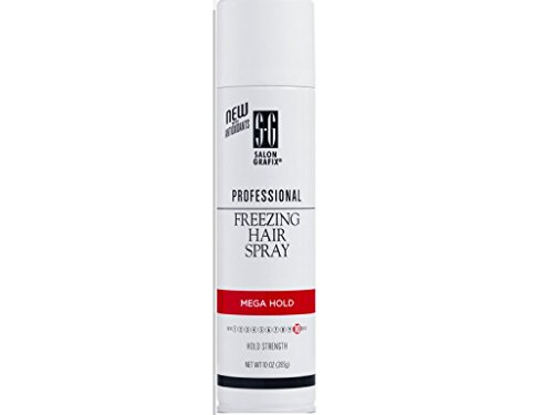 Salon Grafix Hairspray Freezing Mega Hold 10 Ounce