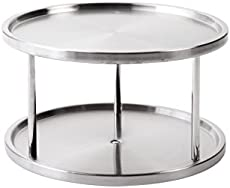 2 Tier Stainless Steel Table_Yuanwenjun.com