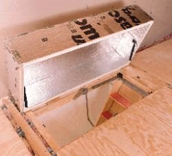 Yankee Insulation 3570.011 Therma-Dome Attic Stair Cover & Yankee Insulation 3570.011 Therma-Dome Attic Stair Cover - Tool ...