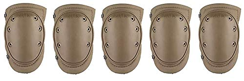 Alta Industries 50413 AT50413-14 AltaFLEX Knee Pads, Coyote (One Pair) (5-(Pack))