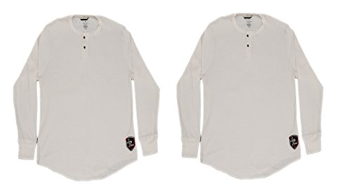 LUCKY BRAND Mens 2PC Set Waffle Knit The - Waffle Knit Henley Shopping Results