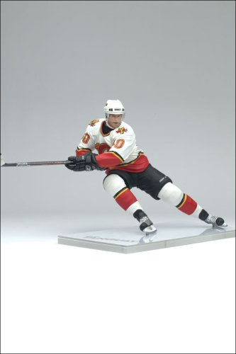 """440507767 Image Unavailable. Image not available for. Color: McFarlane Toys 6"""" NHL  Series 13 - Alex Tanguay Maroon Jersey"""