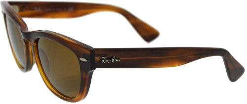 Ray-Ban 4169 820 Striped Havana Laramie Wayfarer Sunglasses Driving Lens - Driving Ban Sunglasses Ray