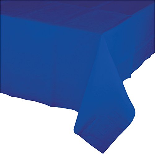 Creative Converting 723147B Touch of Color Plastic Table Cov