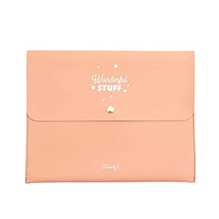 Mr. Wonderful Funda para Agenda Wonderful Stuff, Multicolor, 28 x 22,5 x 1 cm