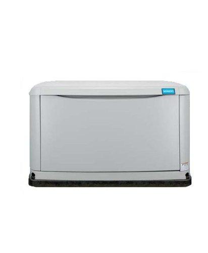 Siemens ASGN008RBS Air Cooled Liquid Propane/Natural Gas Powered Standby Generator, 8,000-Watt