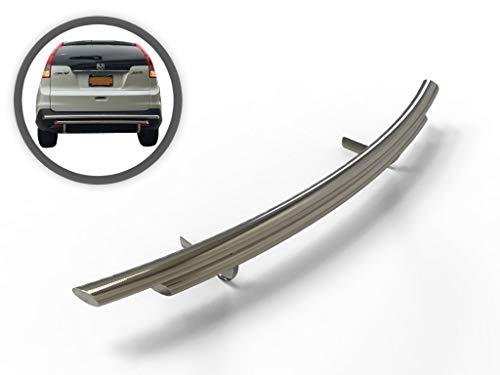 VANGUARD VGRBG-0923-0725SS for 2012 2016 Honda CR-V Rear Bumper Guard Stainless Steel Double Layer Style
