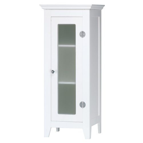 gifts decor wood white finish home decor bathroom storage cabinet