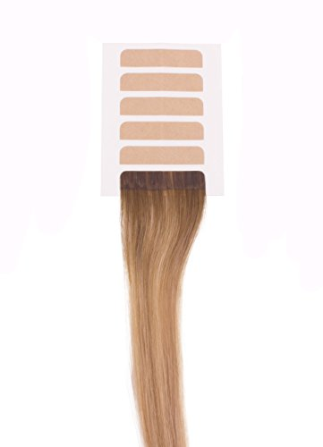Tape-In Hair Extension Tape - The Hair Shop Smart Tabs Professional Strong No-Residue Replacement Tape for 100% Remy Human Hair Extensions (4 cm x 0.9 cm) by The Hair Shop (Image #3)