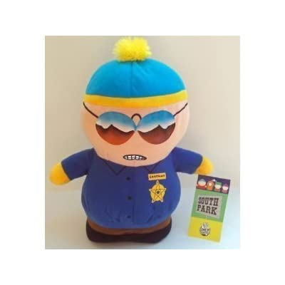 SOUTH PARK Movie Police Officer Cop Cartman Plush Doll: Toys & Games