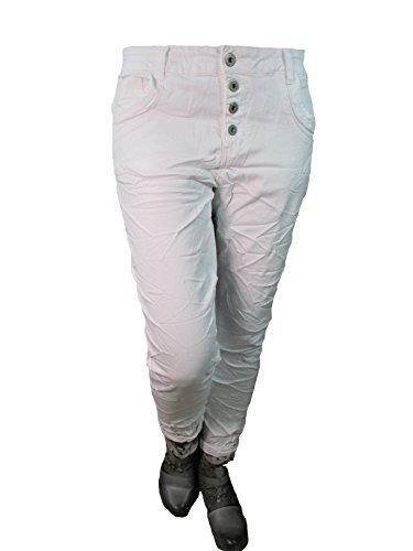 jeans Más Stretch By Baggy Colores Karostar Botones Boyfriend Denim boyfriend 4 De Blanco Cierre Lexxury Abierta xpYwORTOq