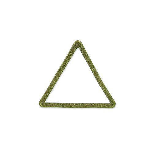 Separatore triangolo 13 mm bronze x25