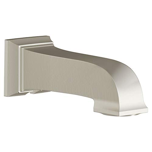 American Standard 8888111.295 Town Square S Non Diverter 1/2 IPS Tub Spout, Brushed Nickel