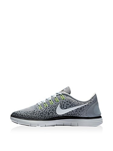 NIKE Men's Free RN Distance Running Shoe (9 D(M) US, Wolf Grey Off White Black)