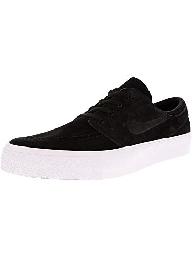 newest 206bb 77ee3 Galleon - Nike Men s Zoom Stefan Janoski Prem Ht Black Black-White Low Top  Suede Skateboarding Shoe - 10.5M
