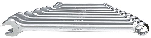 GEDORE 7 XL-0111 Combination Spanner Set, Extra Long, 11 pcs 8-22 mm ()