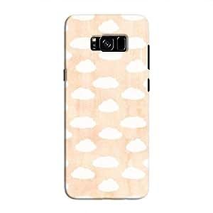 Cover It Up - Cloud Orange Sky Galaxy S8 Hard Case