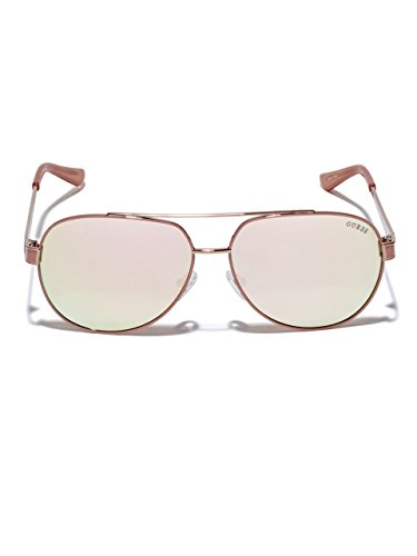 GUESS Women's Jillian Oversized - Guess Pink Sunglasses