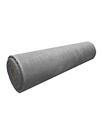 60 Inches Wide X 10 Yards Long Burlap Smoke Charcoal Amazoncom