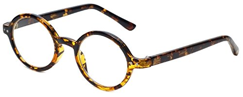 Calabria R421 Unisex Vintage Oval Reading Glasses Lightweigh