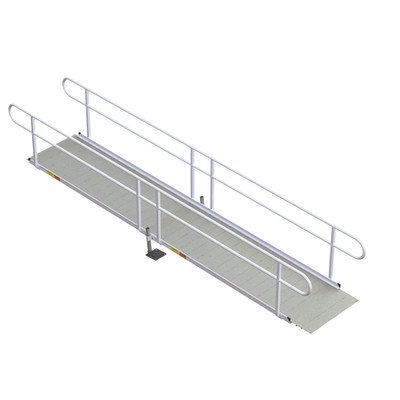 Compare price to wheelchair ramp modular handrails for Prefab wheelchair ramp
