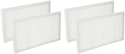 Nispira Compatible Filter Replaces Filtrete 3M Ultra Air Cleaning Filter FAPF02 For Purifiers FAP01-RMS and FAP02-RMS By 4 packs -