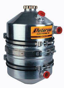 Peterson Fluid Systems 08-0009 3 Gallon Dry Sump Tank