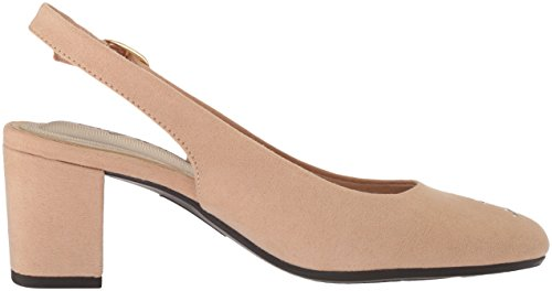 Easy Street Women's Dainty Pump Nude Suede perfect largest supplier cheap price gITglj7