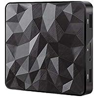 Percrocuta Android TV Box 7.1 Quad Core 64-bit 1GB RAM 8GB ROM UHD Set Top Box Ott Smart TV Box