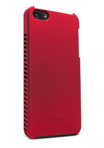 iFrogz Luxe Lean Case for iPhone 5 - Retail Packaging - Red