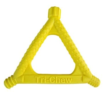 Beckman Oral Tri-Chew Yellow, Soft