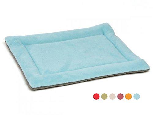 GabeFish Dog Outdoor Indoor Traveling Car Sleeping Bed Feeding Crate Mat Pet Polar Fleece Plain Floors Nap Pad For Cat