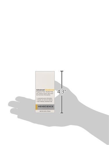 MenScience Androceuticals Advanced Deodorant, 2.6 oz. by MenScience Androceuticals (Image #4)
