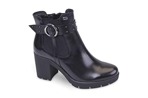 Valleverde Stivaletti Scarpe Nero 49575 Women's Donna Boots FORWaqHF