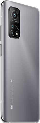 "Xiaomi Mi 10T 5G (Pantalla 6.67"" Fhd+ Dotdisplay, 6Gb+128Gb, Cámara de 64Mp, Snapdragon 865 5G, 5.000Mah carga 33W) Plata Lunar"