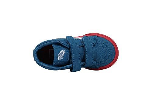 3ff9a29148 Vans SK8 Mid Reissue V Cosplay Blue Red Infant Toddler Shoes Boys Girls
