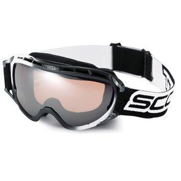 - Scott Spark Spherical Series Goggles Black / White / Chrome Amp