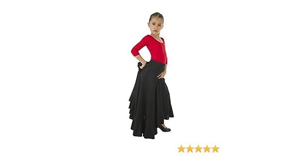 Falda Flamenco Malagueña: Amazon.es: Ropa y accesorios