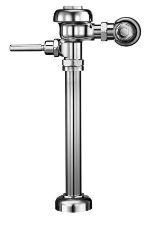 (Sloan REGAL 115-1.6 XL TP Exposed Water Closet Flushometer, for floor mounted or wall hung top spud bowls. Low Consumption 1.5 GPF with the Regal XL which includes ADA Compliant Handle, Vandal Resistant Stop Cap with Set Screw, and Sweat Solder Adapter with Cover Tube and Cast Set)