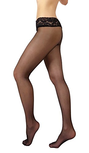 Fit Low Waist Hipster (Women's Exclusive Sheer 20 denier Hipsters Pantyhose Tights Low Waist)