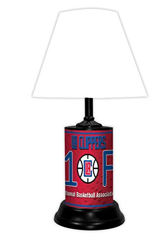 LOS ANGELES CLIPPERS NBA LAMP - BY TAGZ SPORTS by TAGZ Sports