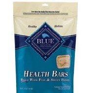 BLUE Health Bars Adult Fish & Sweet Potato Biscuits Dog Treats 16-oz