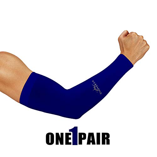 SUNITRA Arm Sleeve with UV Protection Cooling in Summer Arm Warmers in Winter Arm Sleeves for Men, Women & Youth All Ages Arm Bike Under The Sun, Cycling Sleeves for Bikers Sports.